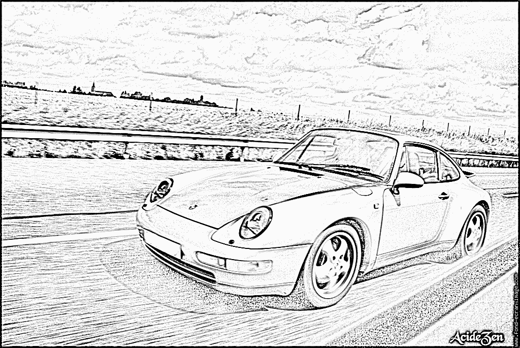 Coloriages À Imprimer : Porsche, Numéro : 106215 à Coloriage Porsche A Imprimer