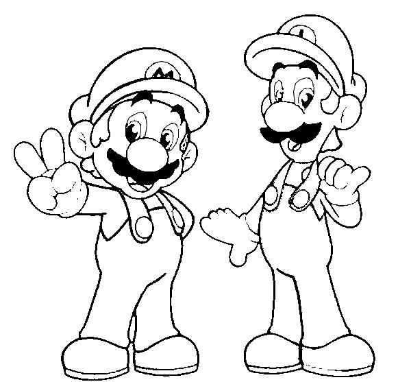 Coloriages À Imprimer : Super Mario, Numéro : 3299 concernant Dessin À Imprimer Mario