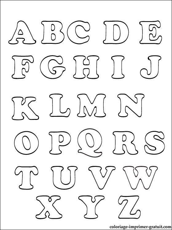 Coloriages Alphabet A Imprimer   Coloriage À Imprimer serapportantà Coloriage Alphabet Complet A Imprimer