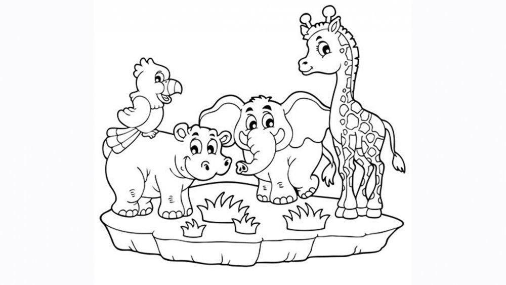 Coloriages Animaux À Imprimer - Magicmaman avec Coloriage Pour Enfant