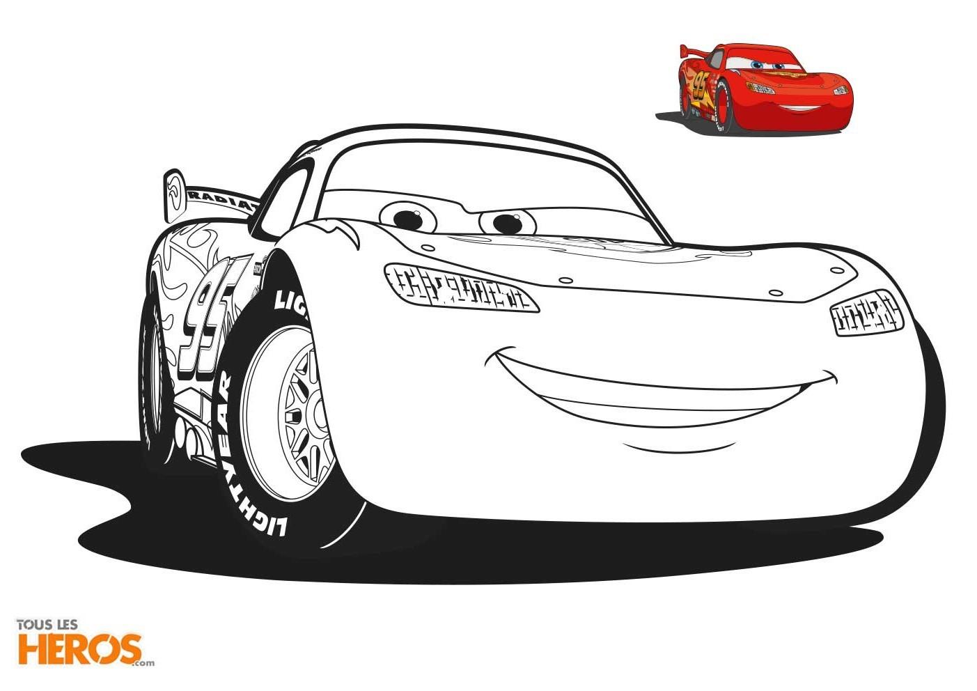 Coloriages Cars Imprimer Gratuitement Sur Le Blog De Tous avec Coloriage Cars À Imprimer Pdf