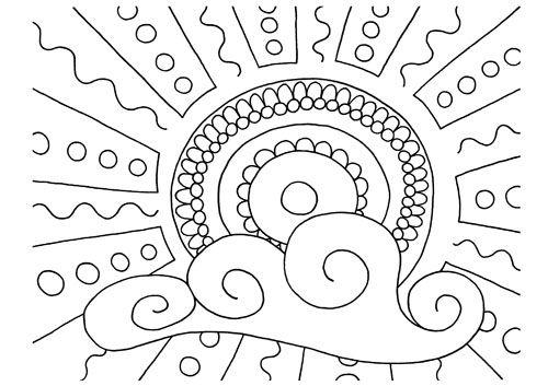 Coloriages: Coloriages Pour L'Été avec Coloriage Été A Imprimer