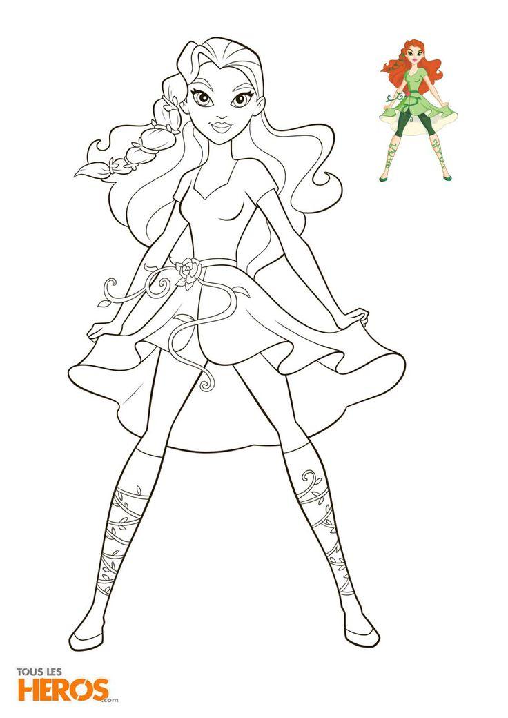 Coloriages Dc Super Hero Girls À Imprimer Gratuitement dedans Coloriage Super Hero A Imprimer Gratuit
