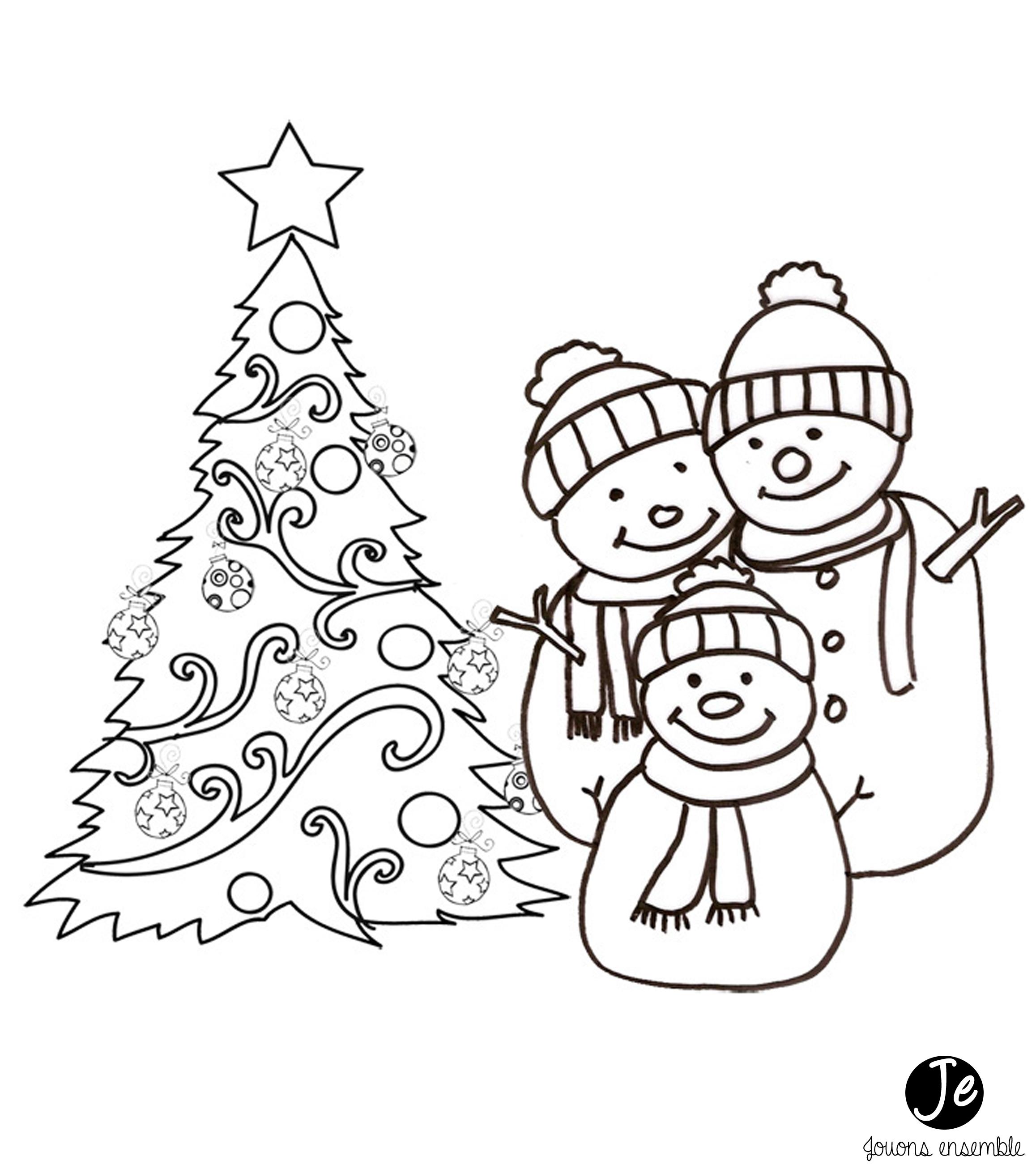Coloriages De Noël | Jouonsensemble à Village De Noel Dessin