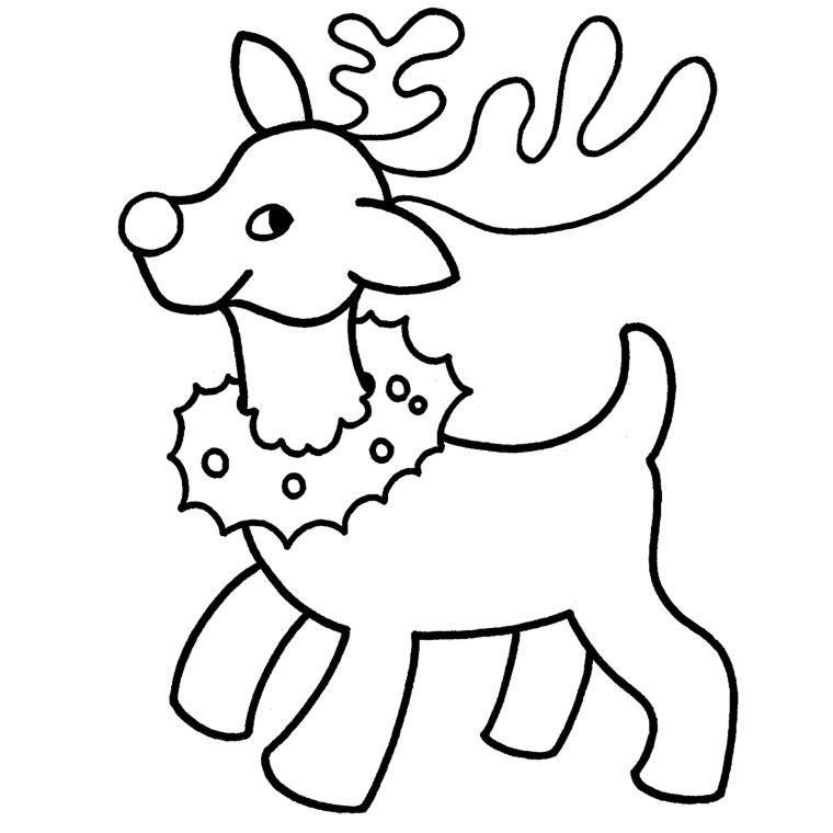 Coloriages De Noël - Un Beau Noël | Coloriage | Coloriage pour Coloriage Père Noel Gratuit À Imprimer