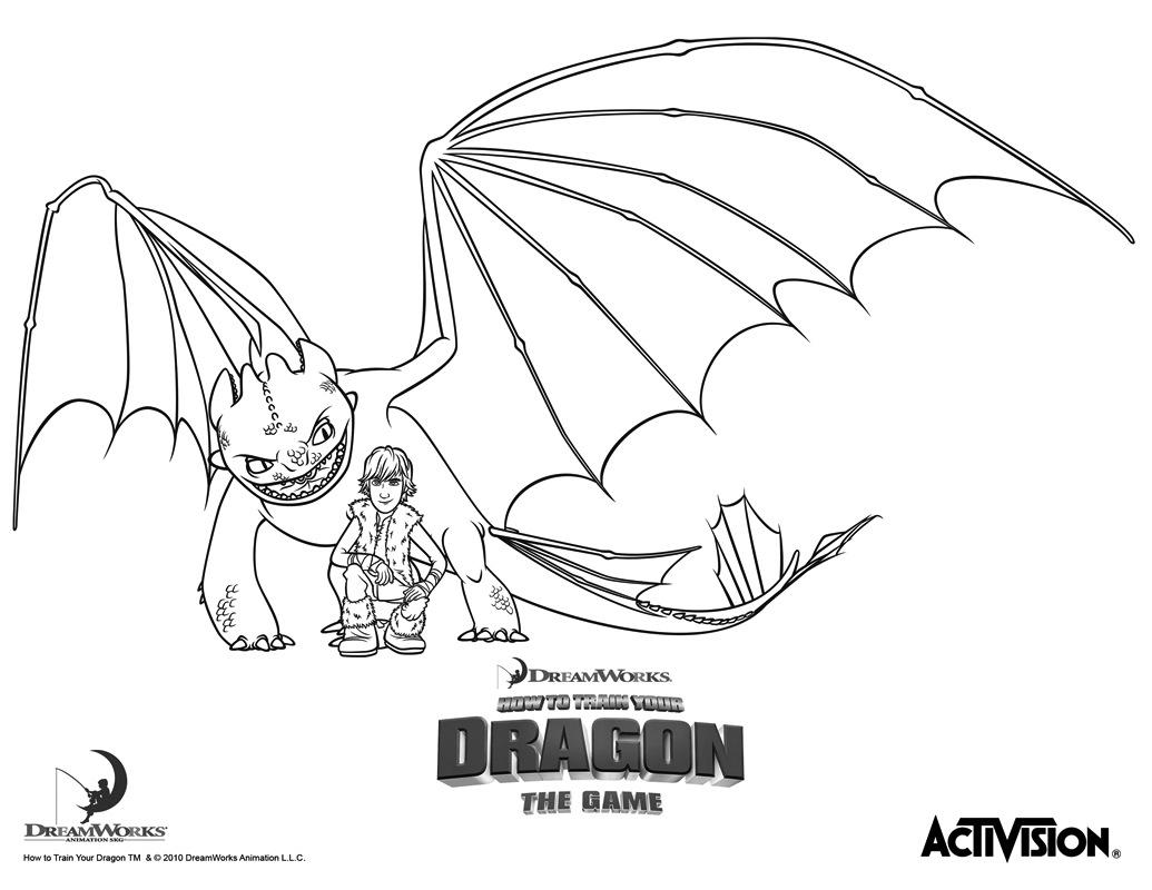 Coloriages © Dragons intérieur Coloriage Dragon