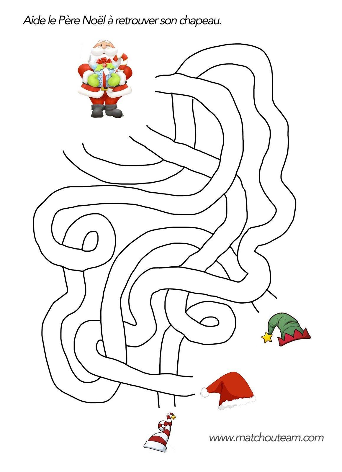 Coloriages Et Jeux Pour Noël | Coloriage Noel, Noel Et à Coloriage Père Noel Gratuit À Imprimer