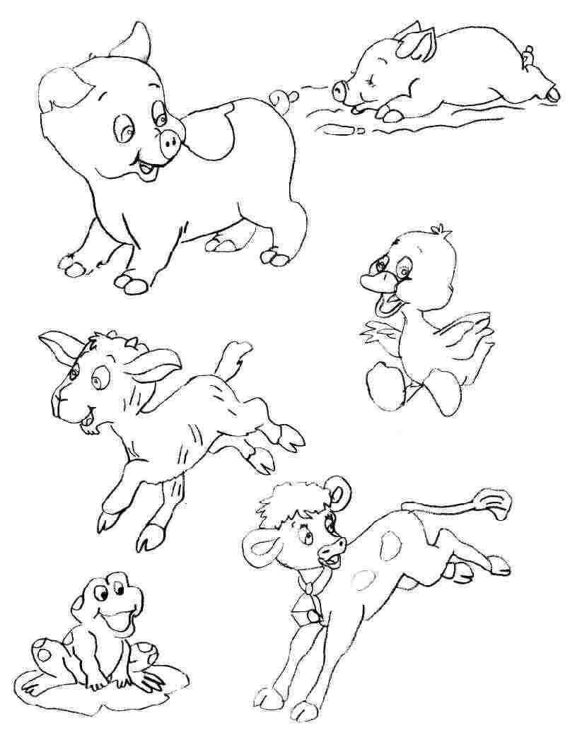 Coloriages Ferme concernant Coloriage D Animaux De Vache