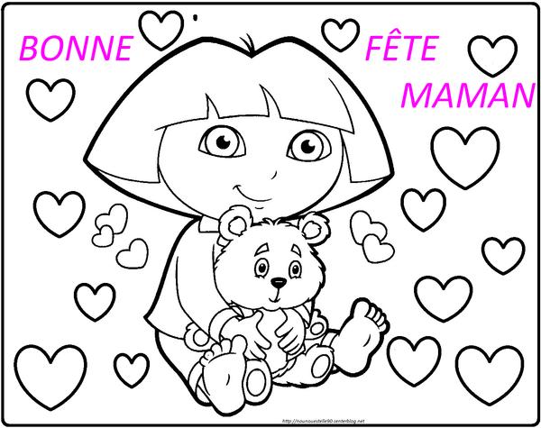 Coloriages Fete Des Mere concernant Coloriage Fete Des Maman A Imprimer