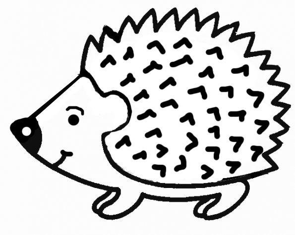 Coloriages Hérisson - Les Animaux | Coloriage Hérisson encequiconcerne Coloriage Facile À Imprimer