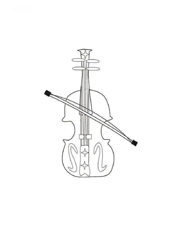 Coloriages Instruments De Musique destiné Coloriage Instrument De Musique
