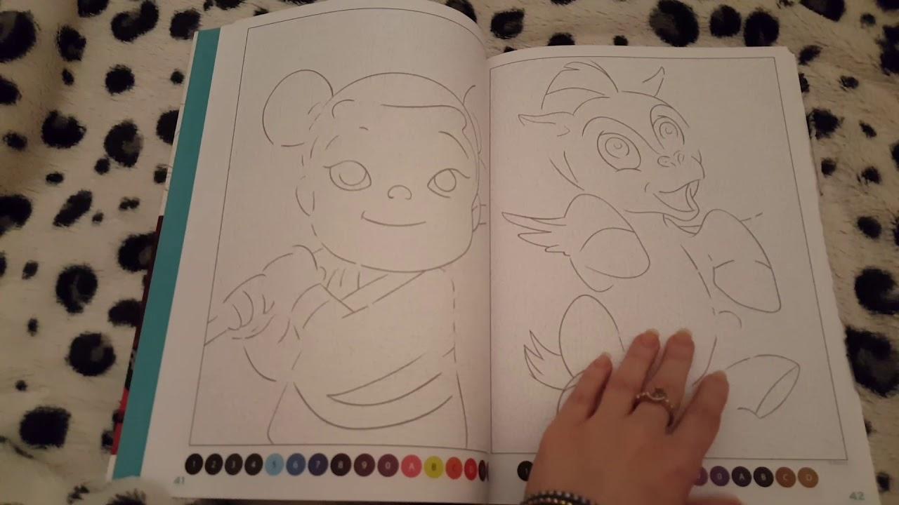 """Coloriages Mystères: Disney: """"Trompe-L'Œil"""" Tome 2 D avec Coloriage Mystère"""