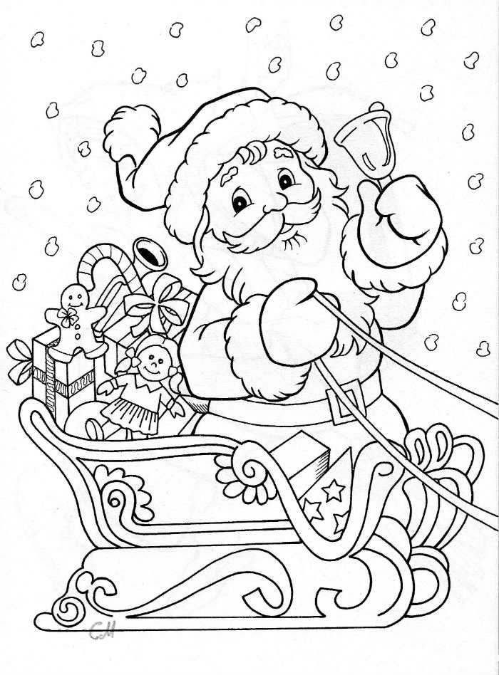 Coloriages Noël À Imprimer Gratuitement à Dessin De Noel A Imprimer Gratuit