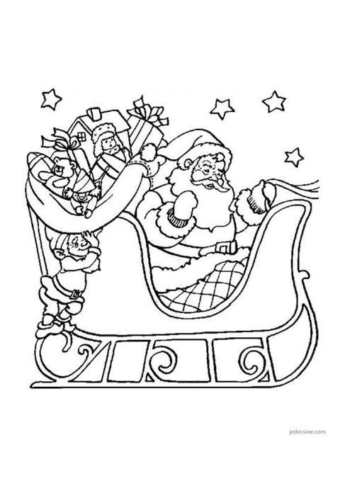 Coloriages – Noël – Maternelle – Petite Section – Moyenne dedans Coloriage Moyenne Section À Imprimer
