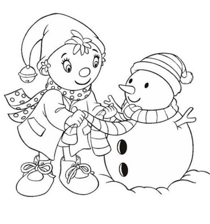 Coloriages Pour Noel destiné Coloriage De Tchoupi A Imprimer Gratuit