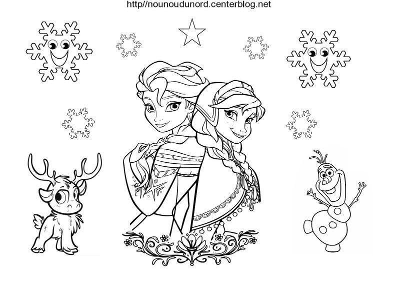 Coloriages Reine Des Neiges à Dessin À Imprimer La Reine Des Neiges