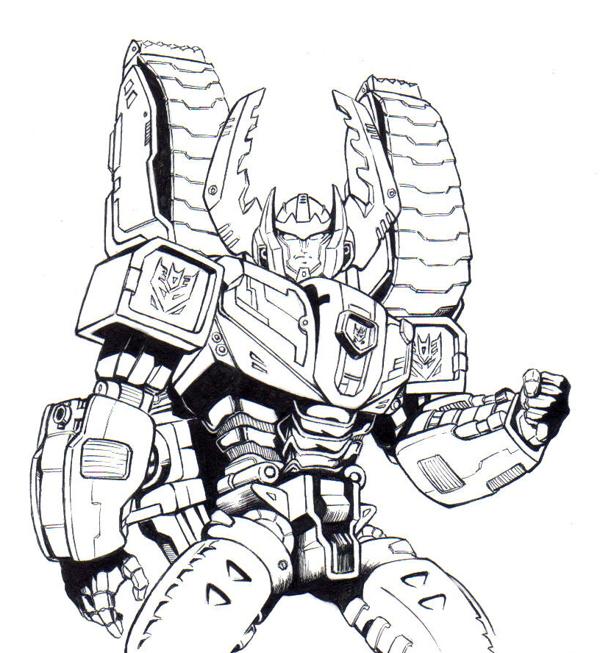 Coloriages Transformers Robots 8 - Coloriage Des pour Dessin Robot À Imprimer