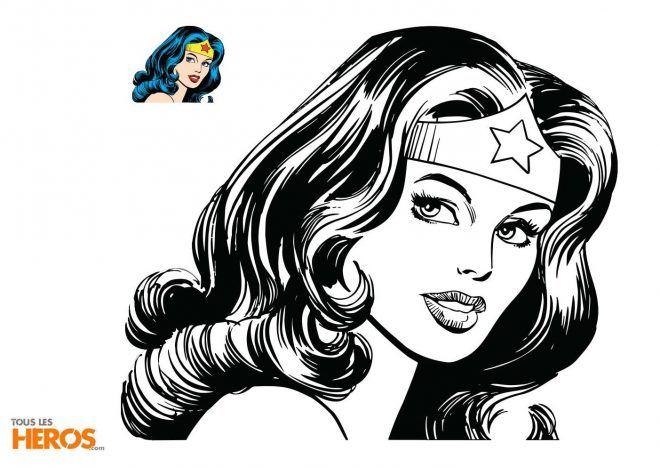 Coloriages Wonder Woman À Télécharger Gratuitement | Coloriage serapportantà Coloriage Wonder Woman A Imprimer