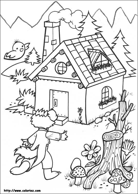 Coloriez - Coloriage Les 3 Petits Cochons encequiconcerne Dessin Des 3 Petit Cochon