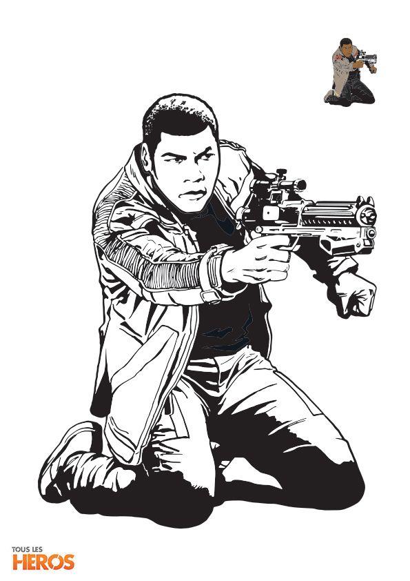 Coloriez Les Personnages De #Starwars ! #Coloriage Sur serapportantà Star Wars Dessin A Imprimer