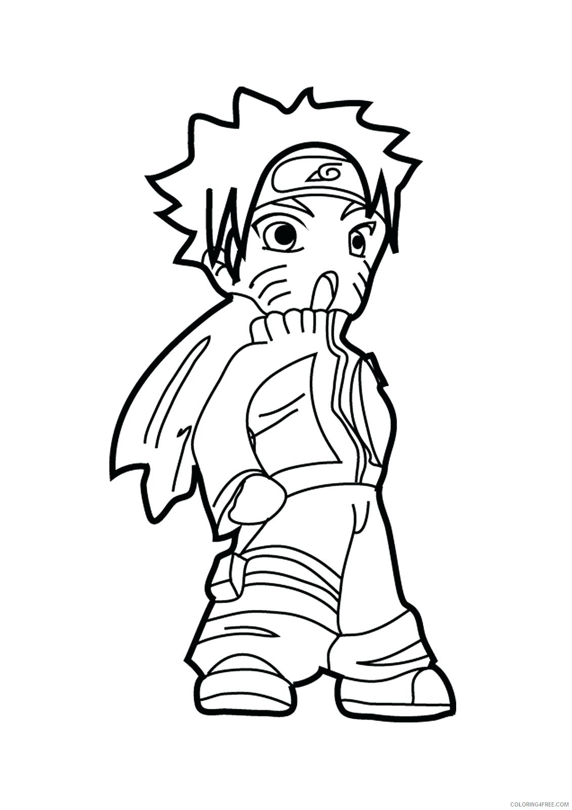 Coloring Pages 999 | Free Download On Clipartmag dedans Naruto Shippuden Coloring Pages
