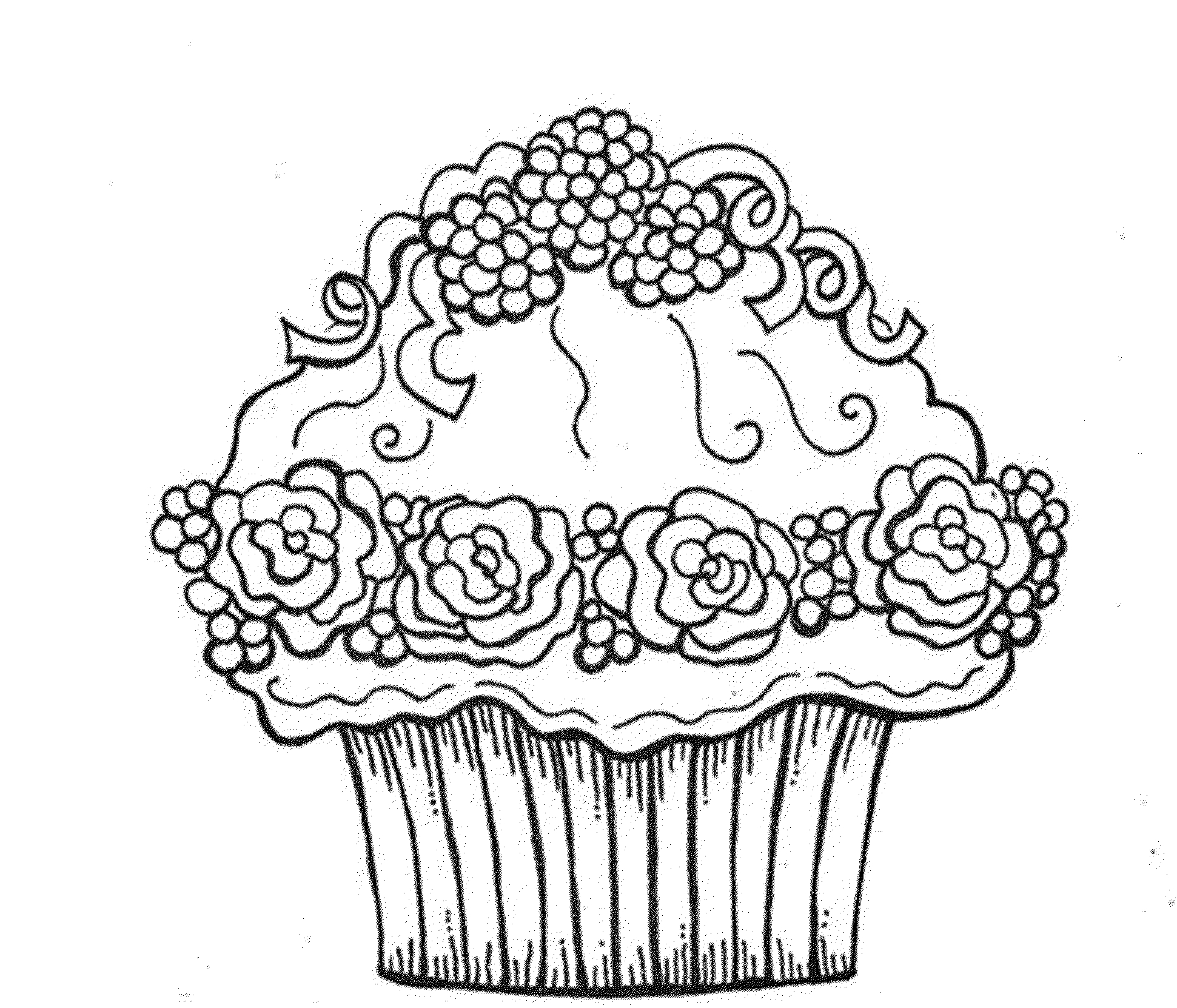Coloring Pages Of Cupcakes Gallery Photos | Cupcake concernant Coloriage Cupcake A Imprimer