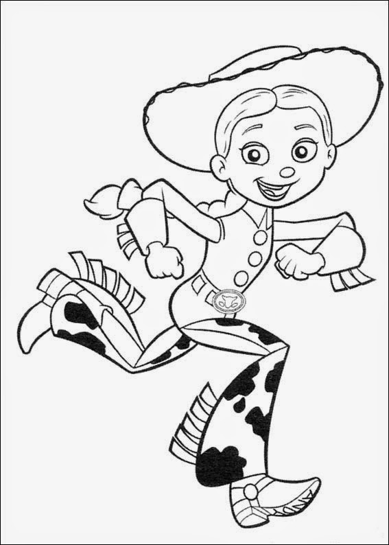 Coloring Pages: Toy Story Free Printable Coloring Pages pour Coloriage Toy Story 4