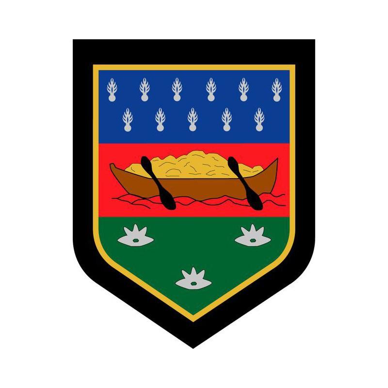 Commandement De La Gendarmerie De Guyane - Ecusson Brodé avec Ecusson Des Equipes De Foot
