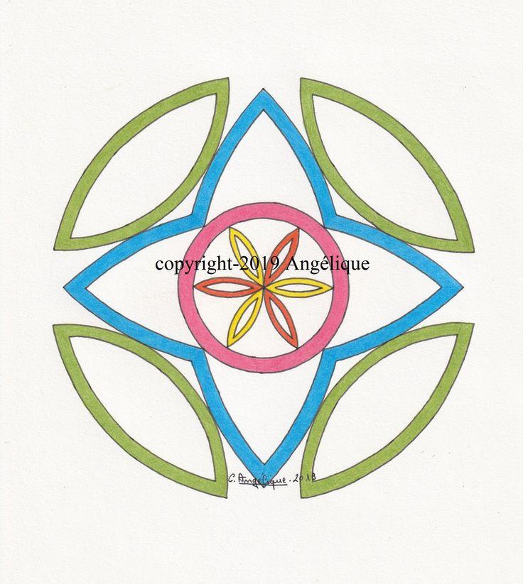Comment Dessiner Avec Un Compas ? Comment Dessiner Une pour Dessin Rosace Fleur