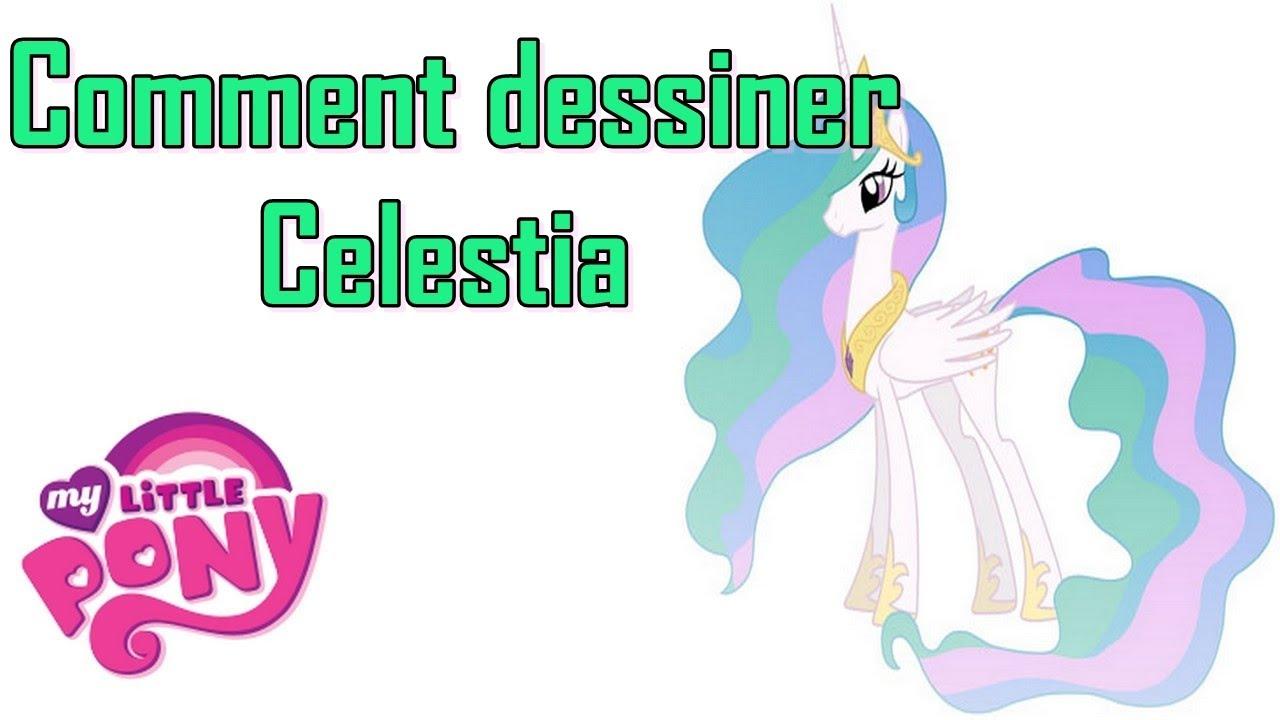 """Comment Dessiner Celestia De """"My Little Pony"""" - pour Comment Dessiner Une Princesse"""