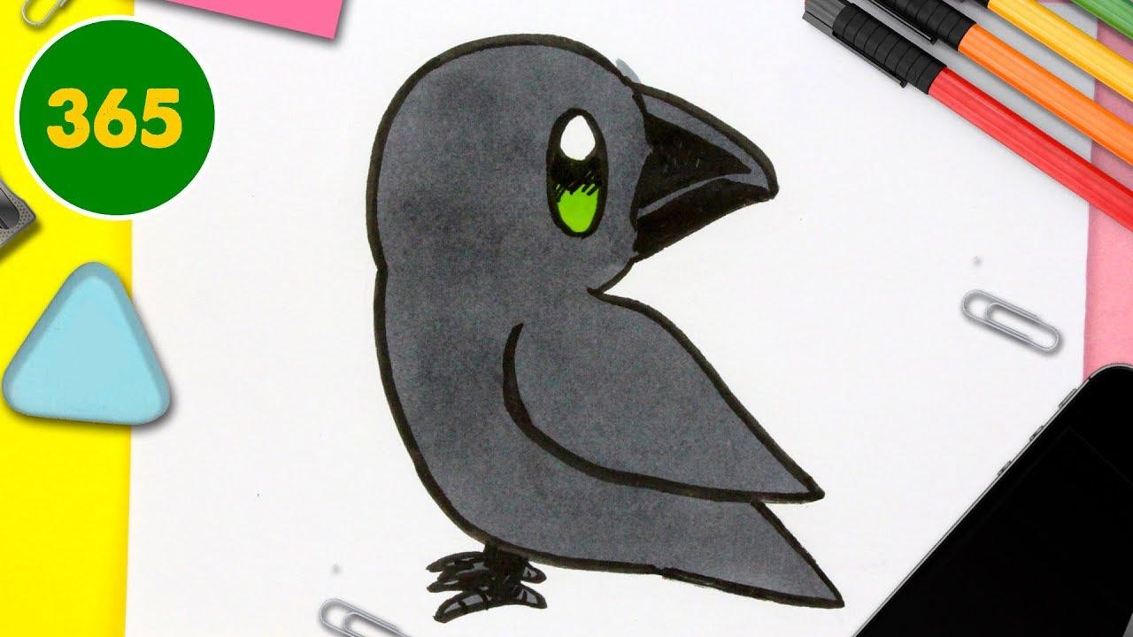 Comment Dessiner Corbeau Kawaii Étape Par Étape – Dessins intérieur Comment Dessiner Un Avion Avec Facile