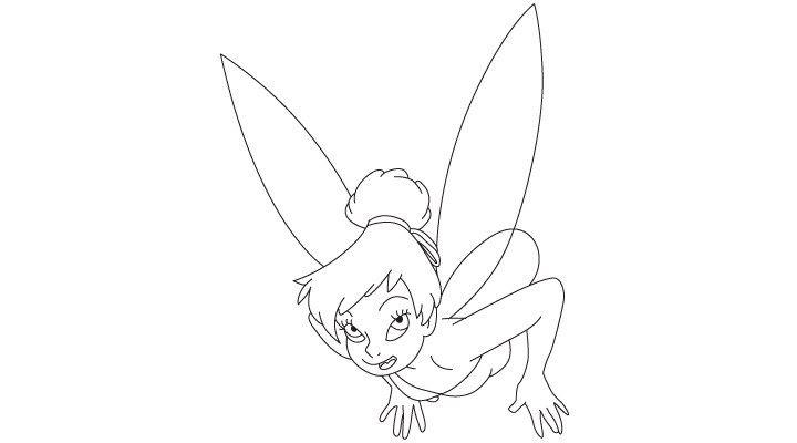 Comment Dessiner La Fée Clochette - Http://.Dessein-De dedans Comment Dessiner Peter Pan
