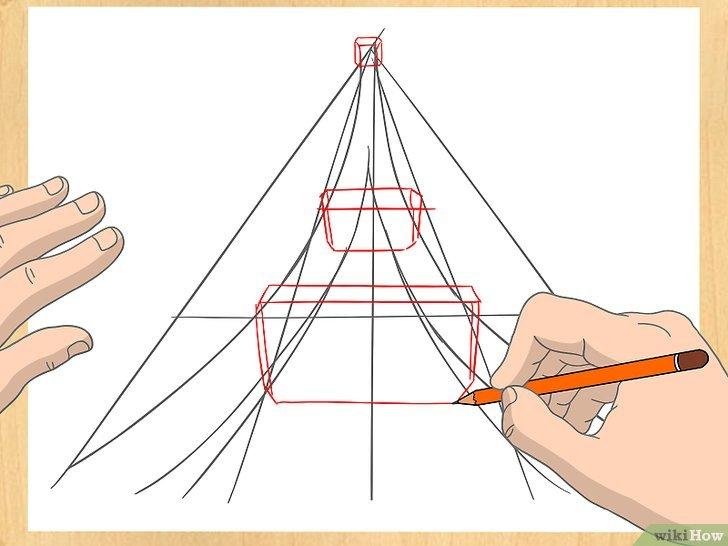 Comment Dessiner La Tour Eiffel: 14 Étapes pour Dessiner La Tour Eiffel