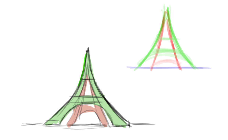Comment Dessiner La Tour Eiffel - Dessindigo intérieur Dessiner La Tour Eiffel