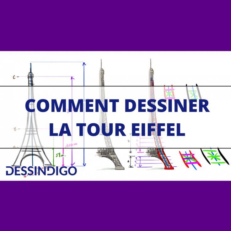 Comment Dessiner La Tour Eiffel destiné Dessiner La Tour Eiffel