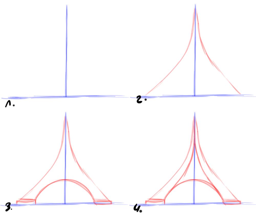 Comment Dessiner La Tour Eiffel | Eiffel, Tour Eiffel destiné Dessiner La Tour Eiffel