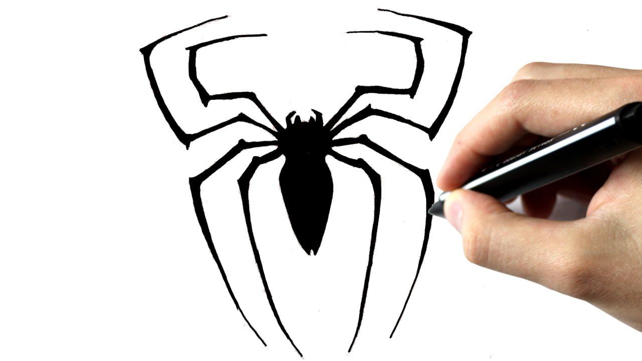 Comment Dessiner L'Araignée De Spiderman - Clipzui à Toile D Araignée Dessin