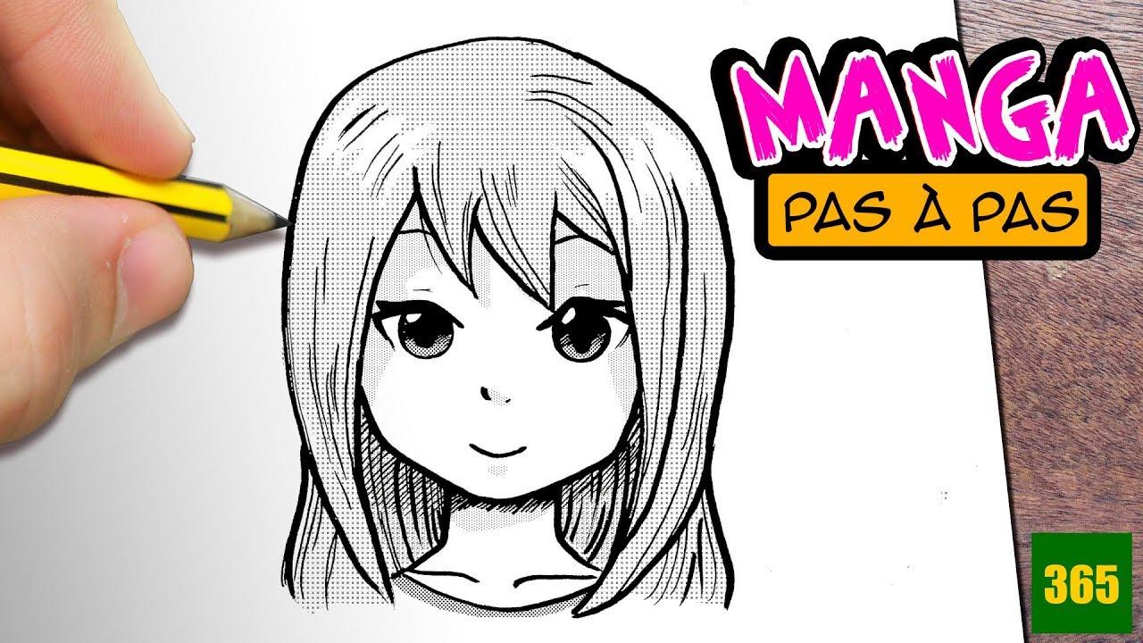 Comment Dessiner Les Chaveux Manga - Comment Dessiner destiné Comment Dessiner Des Tournesols