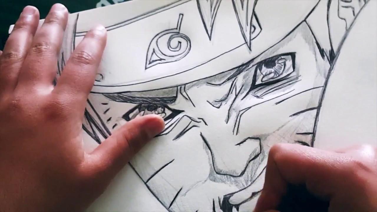 Comment Dessiner Naruto Avec Un Crayon Et Un Stylo Bic dedans Comment Dessiner Des Tournesols