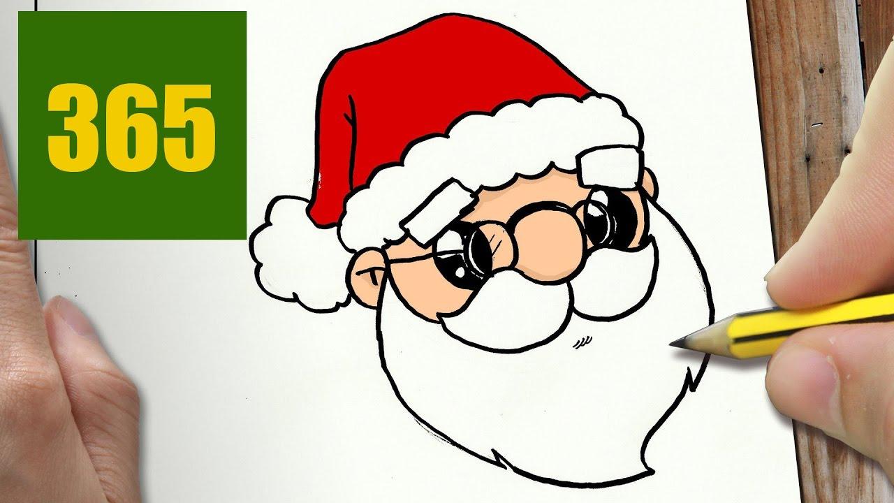 Comment Dessiner Père Noël Kawaii Étape Par Étape avec Comment Dessiner Le Pere Noel