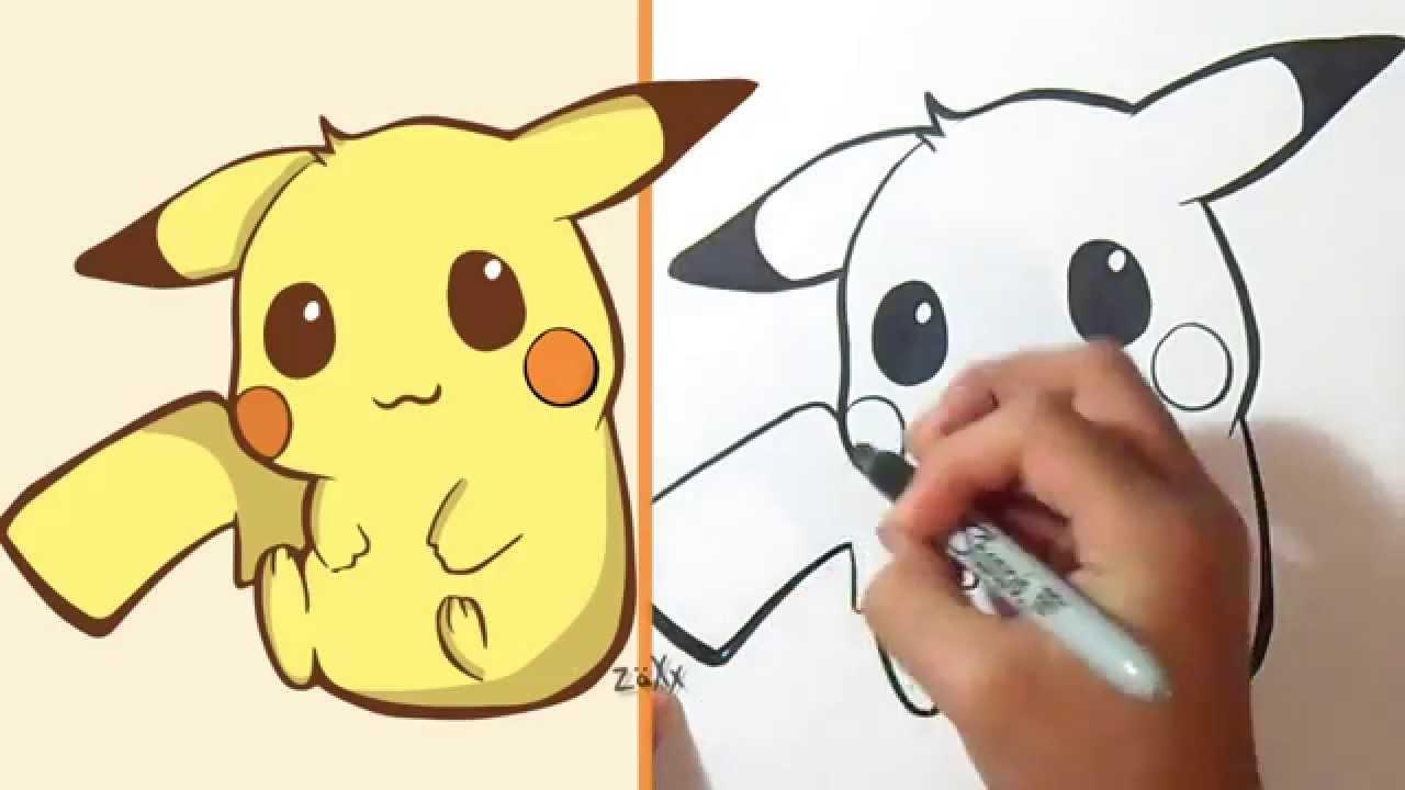 Comment Dessiner Pikachu - avec Dessiner Des Pokémon