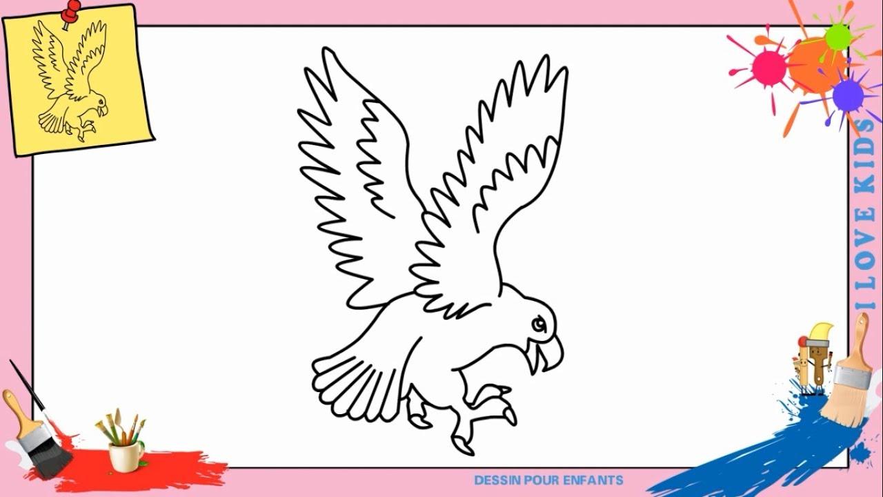 Comment Dessiner Un Aigle (Mettre À Jour) Facilement Etape pour Comment Dessiner Un Diable Facilement