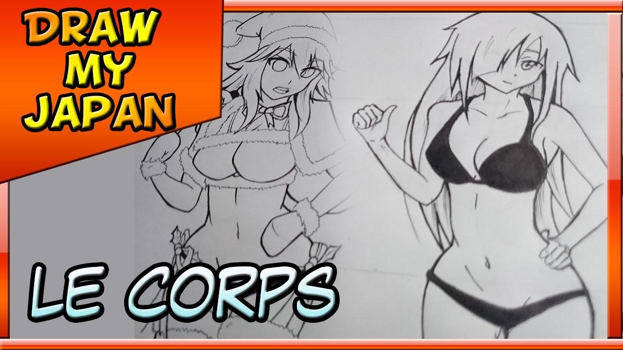 Comment Dessiner Un Corps Manga (Posture Y) !! - encequiconcerne Comment Dessiner Des Tournesols