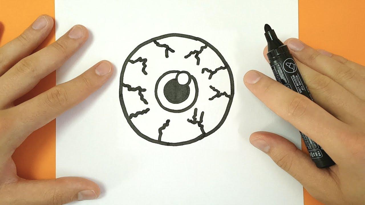 Comment Dessiner Un Oeil Halloween - Tuto Dessin - intérieur Comment Dessiner Un Diable Facilement