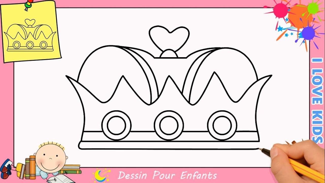 Comment Dessiner Une Couronne De Princesse - Ohbq à Comment Dessiner Une Princesse