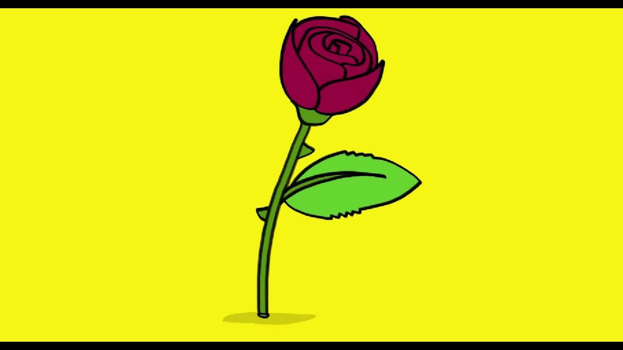 Comment Dessiner Une Rose - Ohbq intérieur Rose Facile A Dessiner