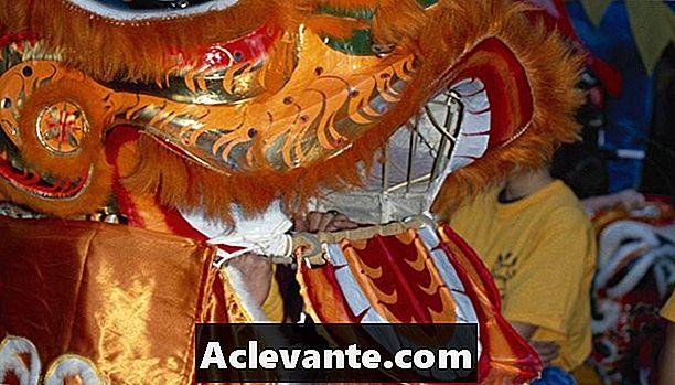 Comment Faire Une Tête De Dragon Chinois Avec Des Articles intérieur Fabriquer Un Dragon Chinois