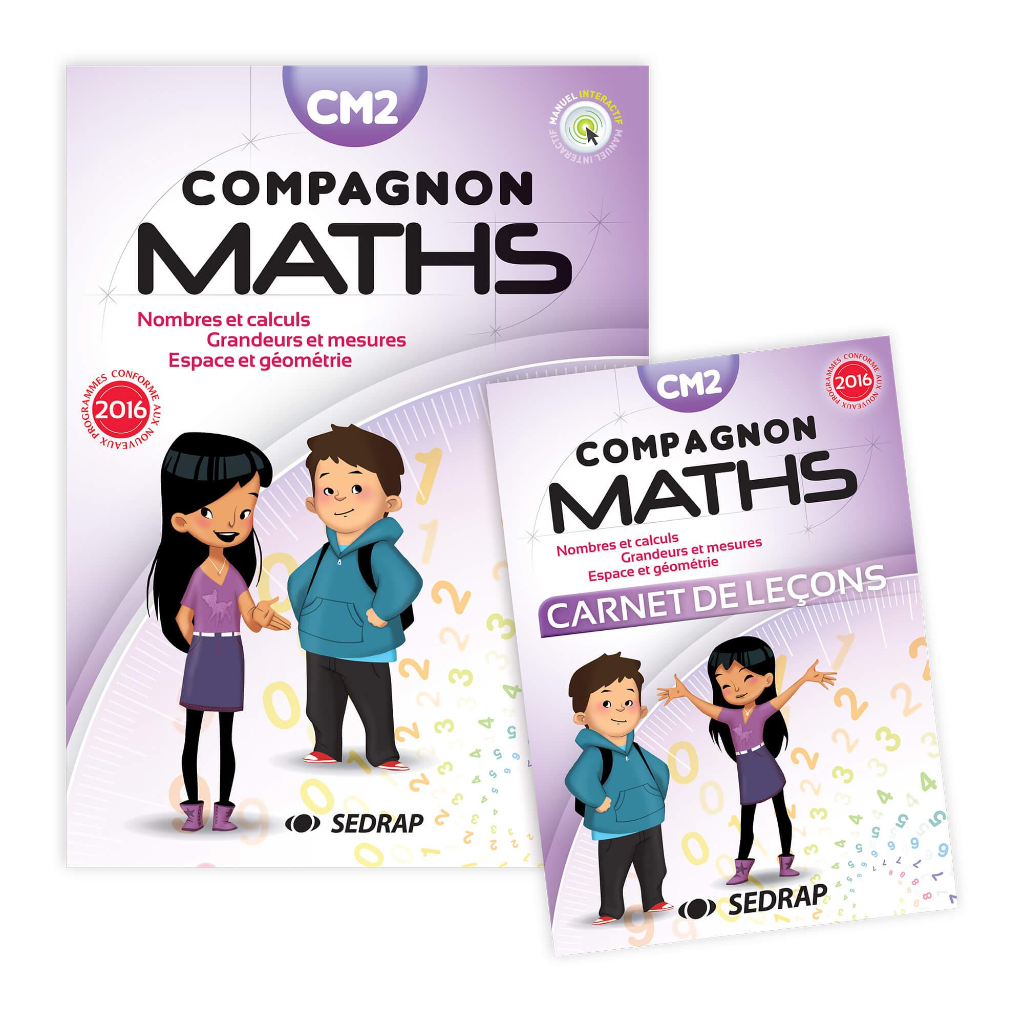 Compagnon Maths Cm2 - Manuel + Carnet De Lecons Ed. 2017 pour Manuel Maths Cm2 Gratuit