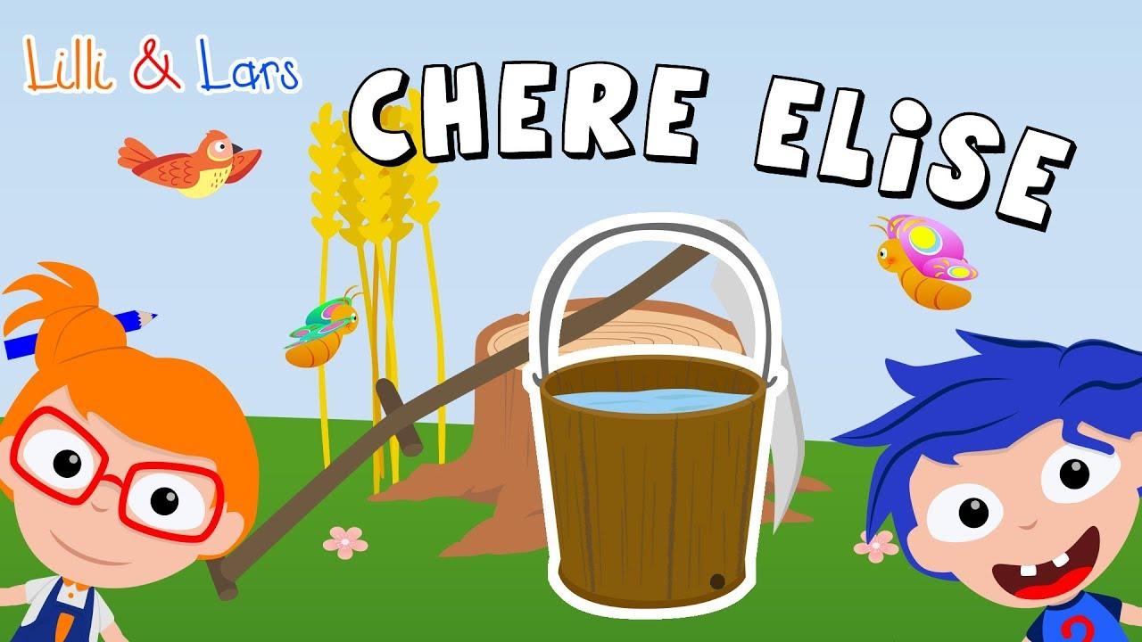 Comptine Chere Elise - Comptines Pour Maternelle Avec avec Comptine Pour Bebe Gratuit