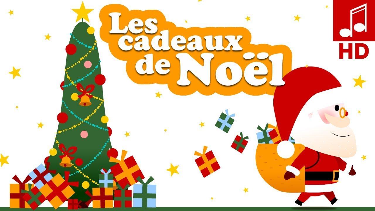 Comptine Des Cadeaux De Noël Pour Bébé & Maternelle - pour Chansons Du Pere Noel